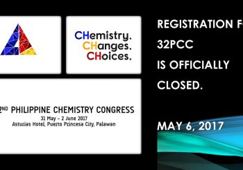 32PCC REGISTRATION IS OFFICIALLY CLOSED.
